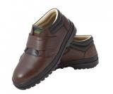 休閒式安全鞋 (咖啡)