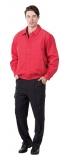 紅色休閒夾克 (內層鋪棉)