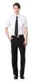 白色短袖襯衫 $450  白色長袖襯衫 $500