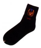 100%純棉黑襪