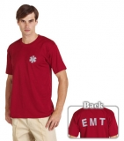 EMT T恤 暗紅