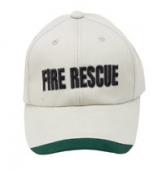 便帽 (白) (FIRE、立體字)