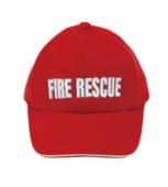 便帽 (紅) (FIRE、立體字)