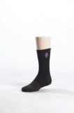 消防萊卡銅絲黑襪
