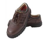 休閒運動安全鞋 (咖啡)