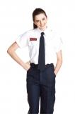 女版免燙白色工作服