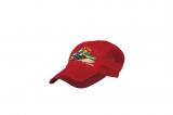 阿里山日出蒸氣休閒帽 紅