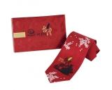 休閒領帶 紅